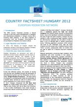 EMN Country Factsheet: Hungary 2012