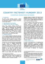 EMN Country Factsheet: Hungary 2013