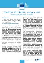 EMN Country Factsheet: Hungary 2015